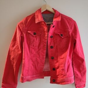 Parasuco-Red denim Jacket, Small